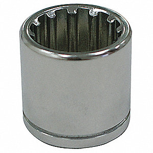 "9mm Chrome Vanadium Socket with 1/4"" Drive Size and Chrome Finish"