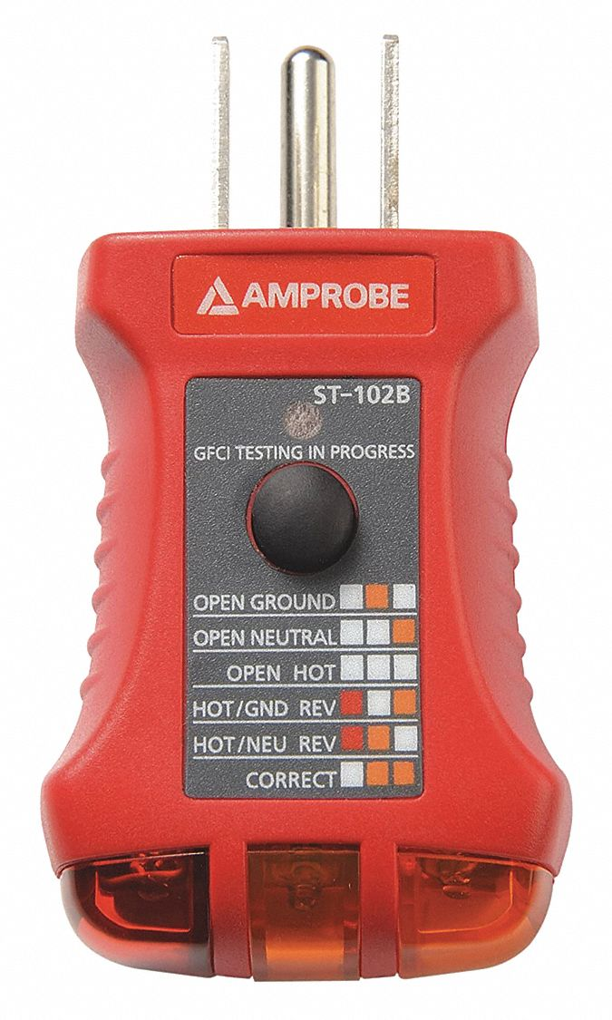 Amprobe ST102A Socket Tester With GFCI for sale online