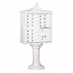 Regency CBU,USPS Access,12 Doors,White