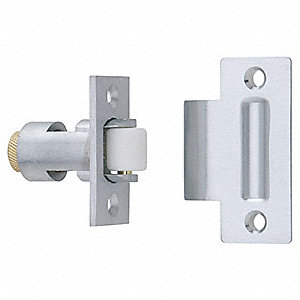 Ives Roller Non Locking Roller Latch 2 1 4 Quot Satin