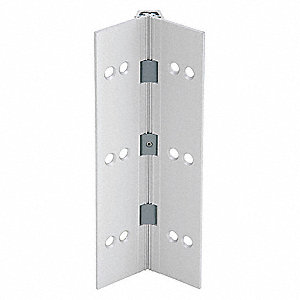 "180° Continuous Hinge With Holes, Door Leaf: 83"" x 1-9/16"" W"