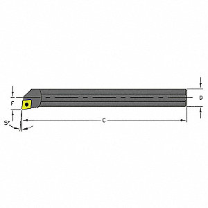 Boring Bar, S04G SCLDL1.5