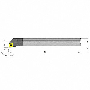 Boring Bar, C03H SCLDL1.2
