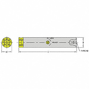 Boring Bar,CFT B2500-33