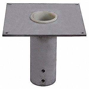 Mounting Base,Flush Mount,1000 lb.,SS