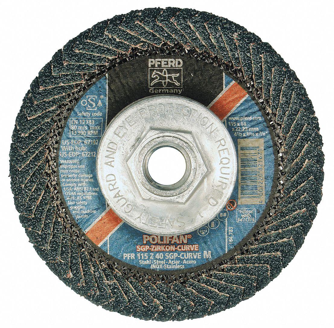 13 Length x 3//8 Width PFERD 49704 Abrasive File Belt 60 Grit Zirconia Alumina Z Pack of 10