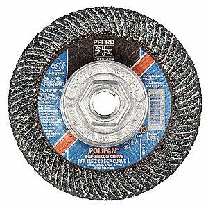 FLAP DISC,4-1/2X5/8-11 Z 40GT,L