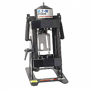 Portable Hydraulic Hose Crimping Machine, No Pump, External Hydraulic Pressure, Capacity: 10 tons
