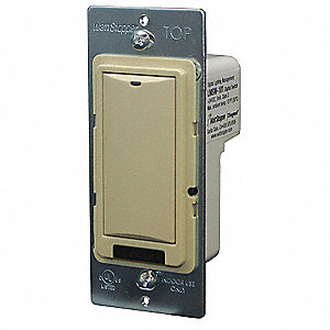 DIGITAL WALL SWITCH,1-BUTTON,IVORY