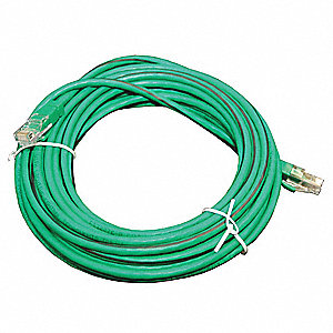 Control System Cable, 25 ft., Plenum Rated For Use With Watt Stopper Digital Lighting Management Sys