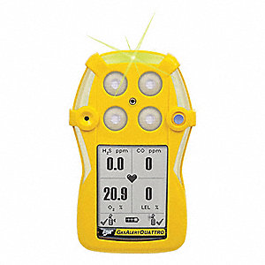 Repl Gas Detector Front Enclosure,Yellow