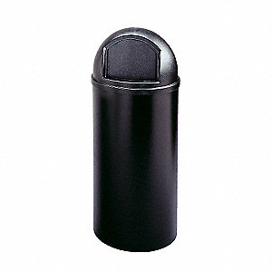 MARSHALL CONTAINER BLK 15 GAL