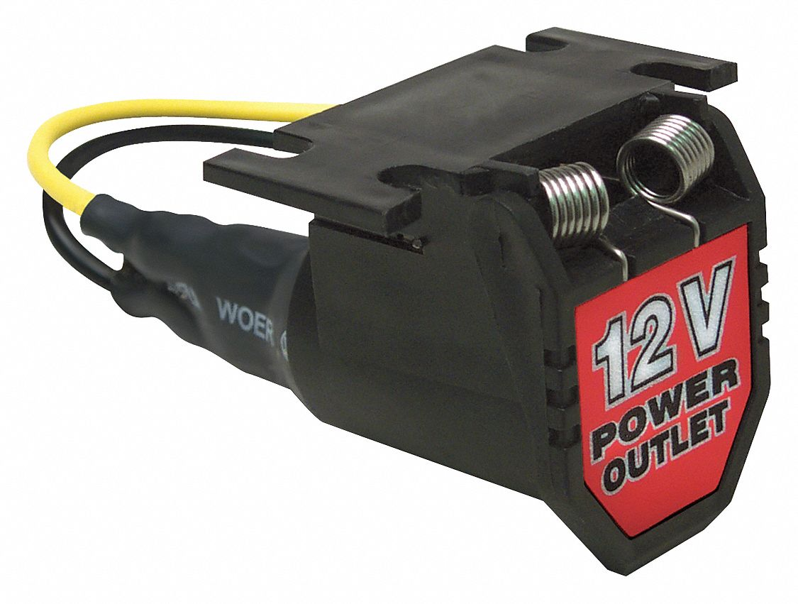 ROADPRO Power Adapter,4 Outlet,12V,10A RP431USB