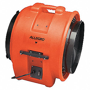 16IN PLASTIC AXIAL BLOWER