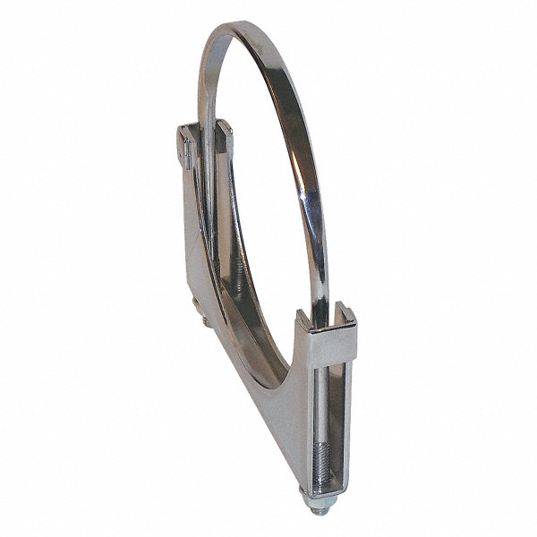 Ottawa products flat u bolt steel exhaust clamp for pipe