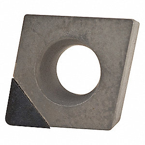 "Diamond Turning Insert,  Inscribed Circle 1/4"",  Bright (Uncoated)"