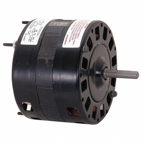Century 1 10 Hp Direct Drive Blower Motor Shaded Pole 1050 Nameplate Rpm 115 Voltage Frame