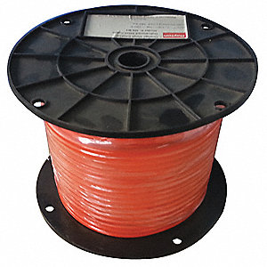 Cable,3/32 in.,25 ft.,7 x 7,Orange Vinyl