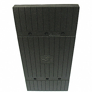 "Black Column Protector, Fits Column Size 24"", Fits Column Shape Square"