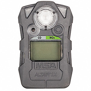 Multi-Gas Detector,CO/NO2,Charcoal Gray
