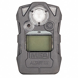 Gas Detector,Gray,CO,0 to 9999 ppm