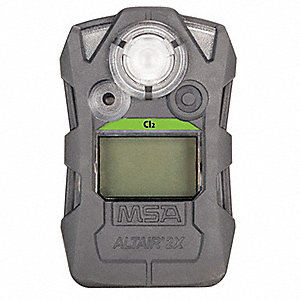 Gas Detector, Gray, CL2, 0 to 10 ppm