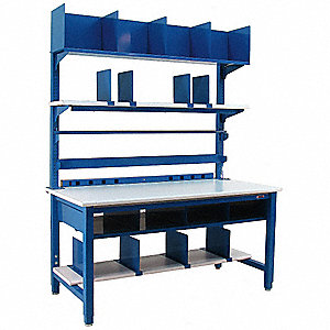 Heavy-Duty Packing Bench Set,72inWx36inD