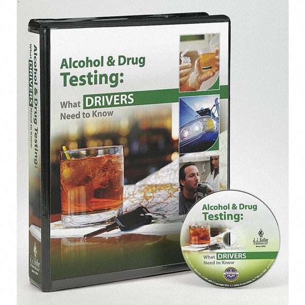 Jj keller training kit drug alcohol dvd english 33rj79 for General motors drug test