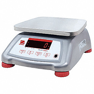 Food Prcssng Scale,SS,0.002kg/0.005 lb.