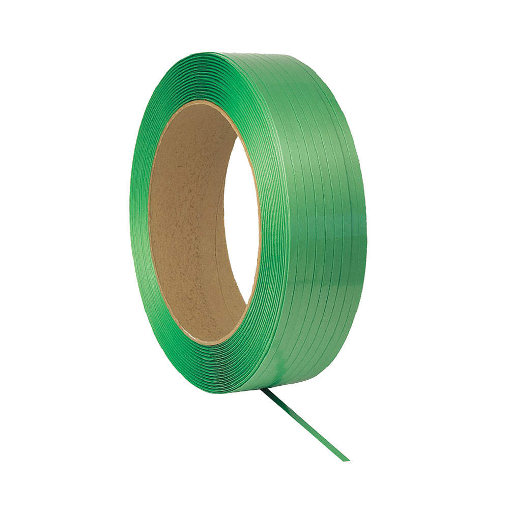 """GRAINGER APPROVED 6LFZ4 Plastic Strapping,Hand Strapping,7//16/"""""""