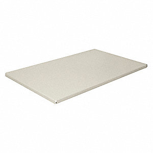 Shelf,30 In. W x 12 In. D,Putty
