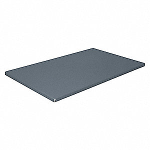 Shelf,36 In. W x 18 In. D,Charcoal