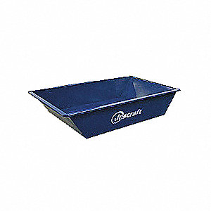 Mortar Pan,10 cu. ft.,Steel