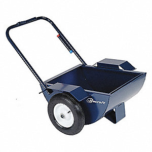 Mop Bucket Cart, 30 gal., Flat Free 16 in.