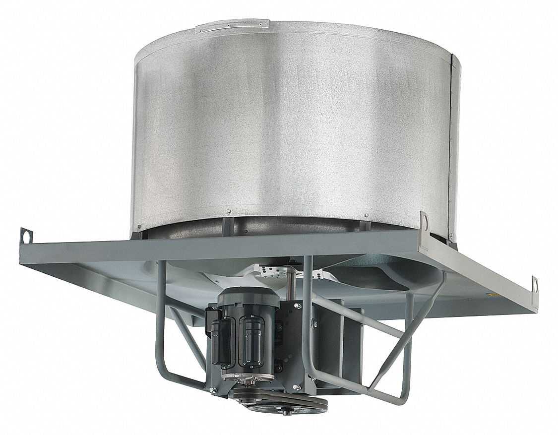 Axial Upblast Belt Exhaust Ventilator