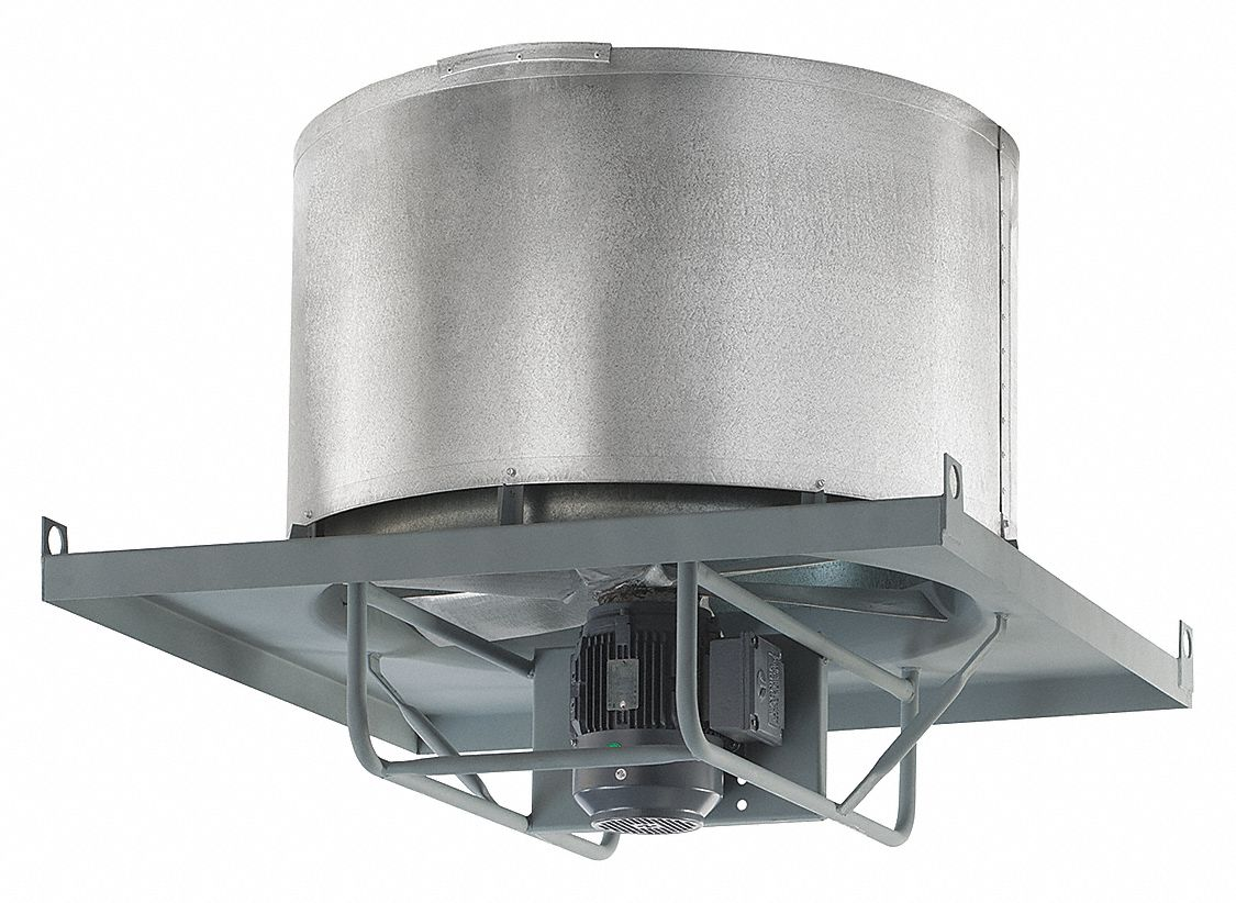 Axial Upblast Direct Exhaust Ventilator