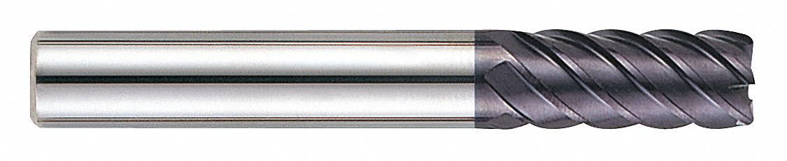 Number of Flutes: 6 7//8 Length of Cut 3//8 Milling Dia AlTiN EM208-93121 Yg-1 Tool Company End Mill
