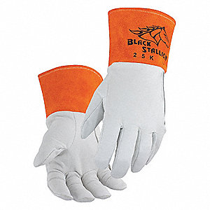 "Welding Gloves,TIG,14"",S,PR"