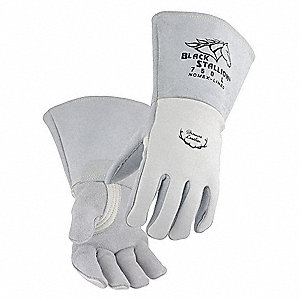 "Welding Gloves,Stick,14"",M,PR"