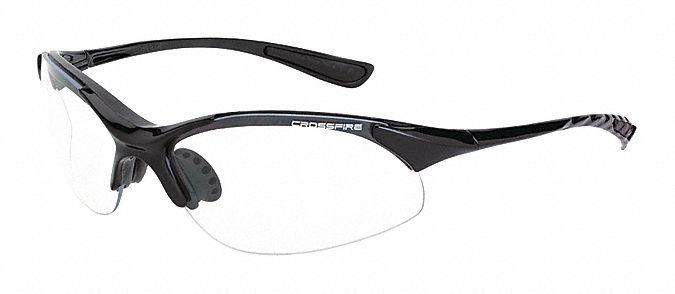 Eyeglass Frame Inventory Management : RADIANS Rave Scratch-Resistant Safety Glasses, Clear Lens ...