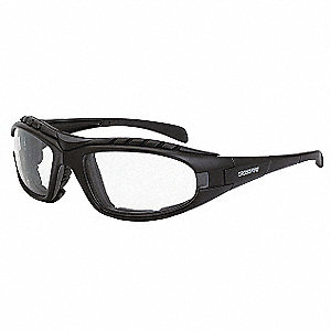Crossfire Anti-Fog Safety Glasses, Clear Lens Color