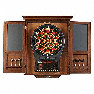 brunswick billiards electronic dartboard cabinet wood 33tz49 rh grainger com electronic dart board cabinets for sale arachnid electronic dart board with cabinet