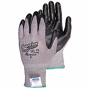 Cut Resistant Gloves,9,Foam Nitrile,PR