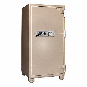 Fire Safe,13.3 cu. ft.,Tan,920 lb.