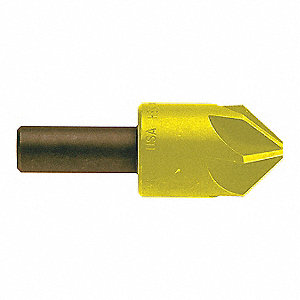 Countersink,6 FL,100 Deg,1-1/2,Co,TiN