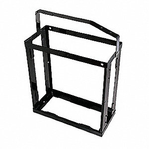 Gas Can Holder,Black,19-1/2 in. L