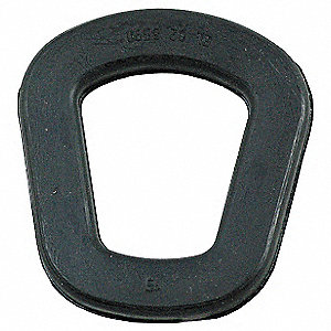 Gas Can Nozzle Gasket,Black,2 in. L