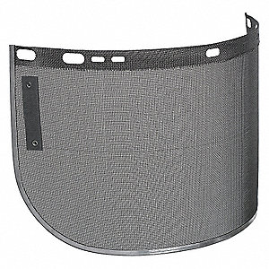 Face Shield Visor,1/64inTx8inHx15-1/2inW
