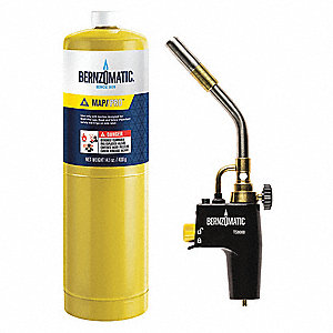 TS8000BZKC Torch Kit, Map-Pro Fuel, Instant On/Off Ignitor