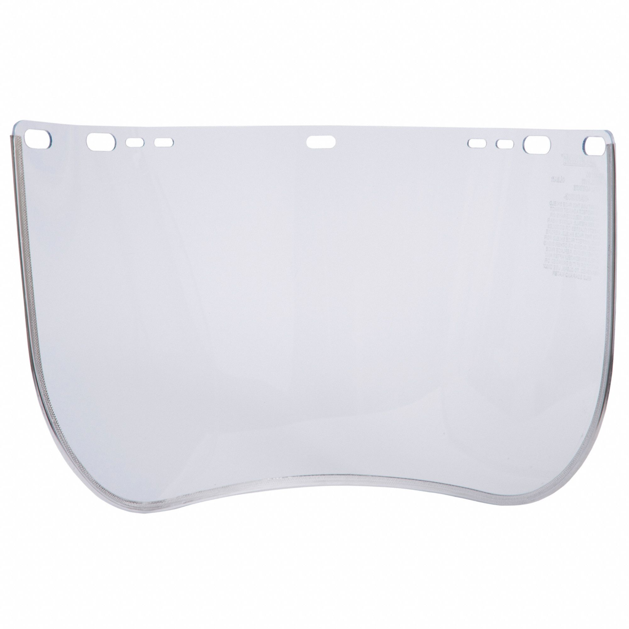 Face Shield Visor,Acetate,8inHx15-1/2inW
